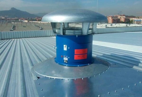 aireadores mecánicos para casos de incendios