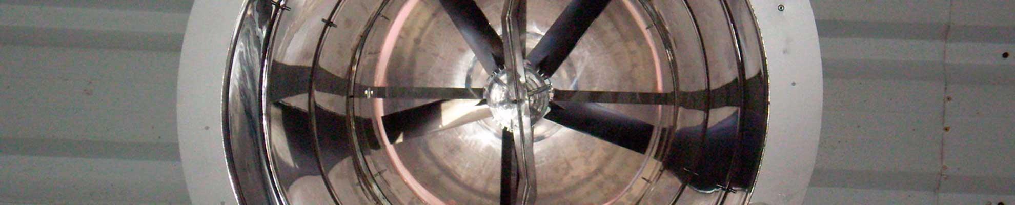 accesorios de ventilación industrial