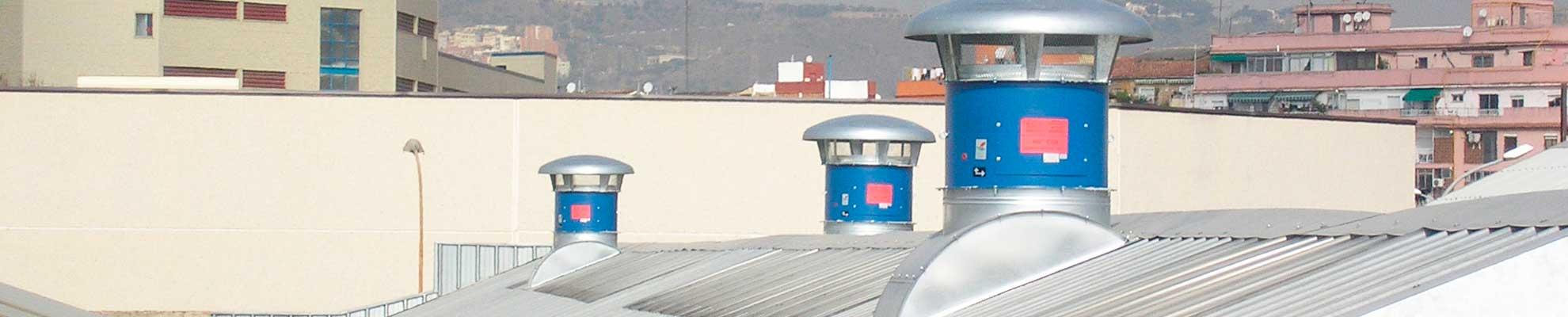 Aireadores mecánicos para la extracción de humos en incendios