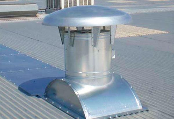 Soluciones de ventilación estática Futurvent para empresas