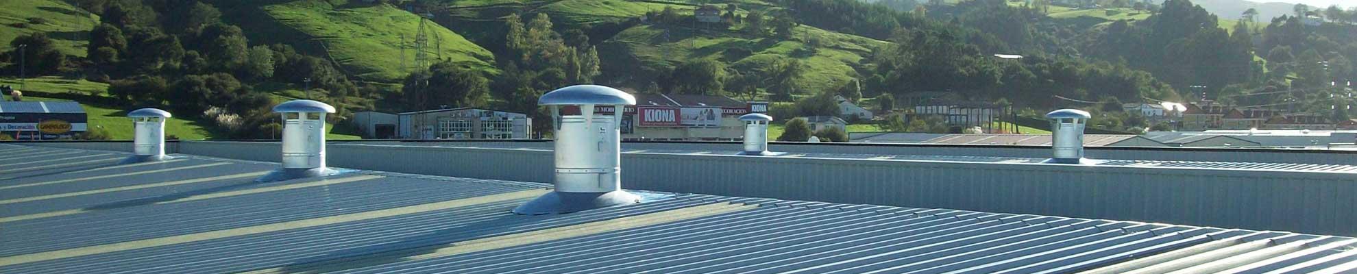 Sistemas de ventilación industrial para todo tipo de industrias en Futurvent